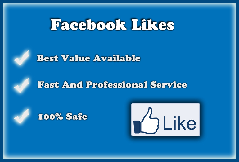 give you 500 real facebook likes fan page