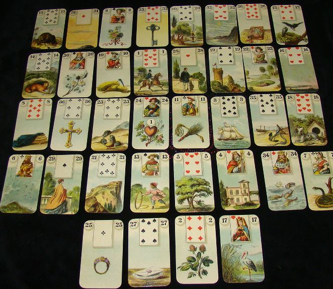 give a personalized Lenormand Reading~ 5 Cards