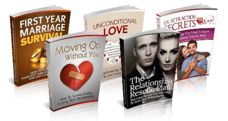 give you top 5 E books on Dating And Relationship With MRR