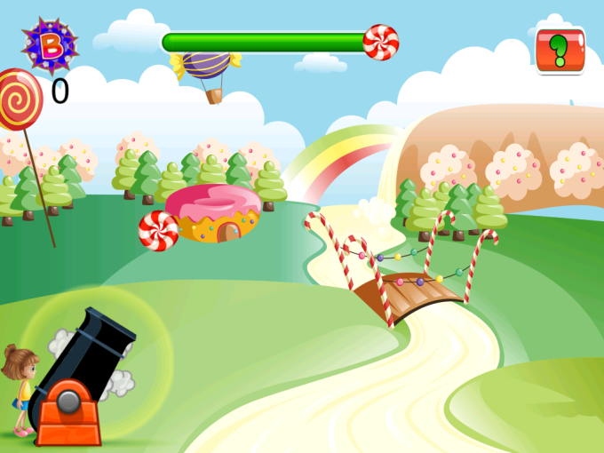 Reskin Candy Shooting Game in Ios