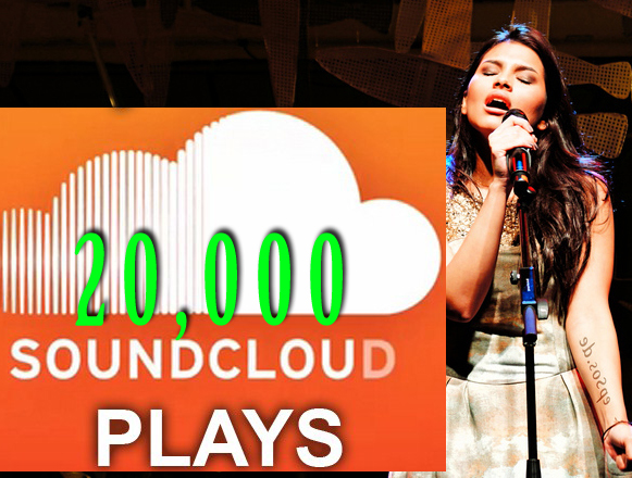 Deliver 20000 Soundcloud Plays In 24 Hours