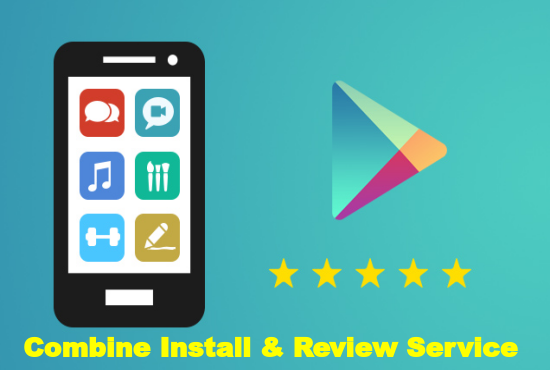 promote your Android app with 40 flexible installs