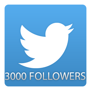 add more than 3000 followers to your Twitter Page