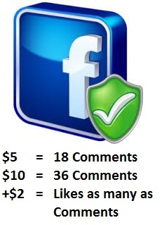 Give Super Fast Facebook Like & Comment Service!