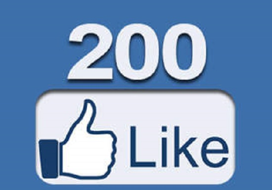 give you 200 Real facebook fan page like withen in 6 hours