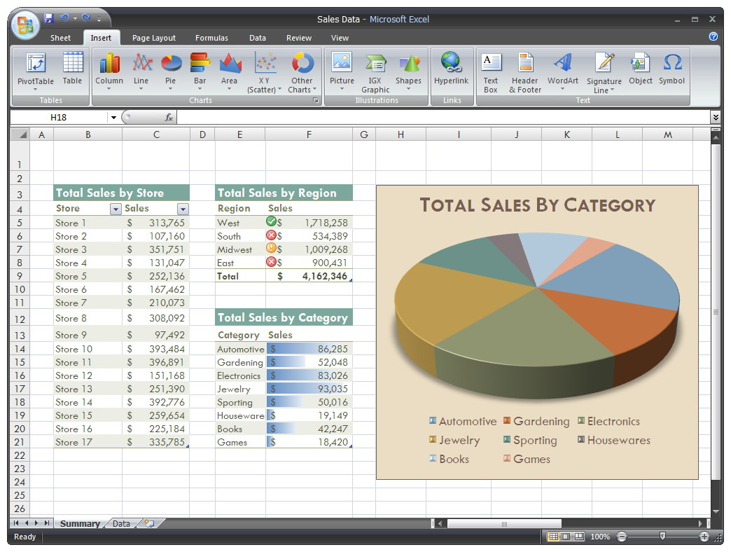 do Excel work for you for
