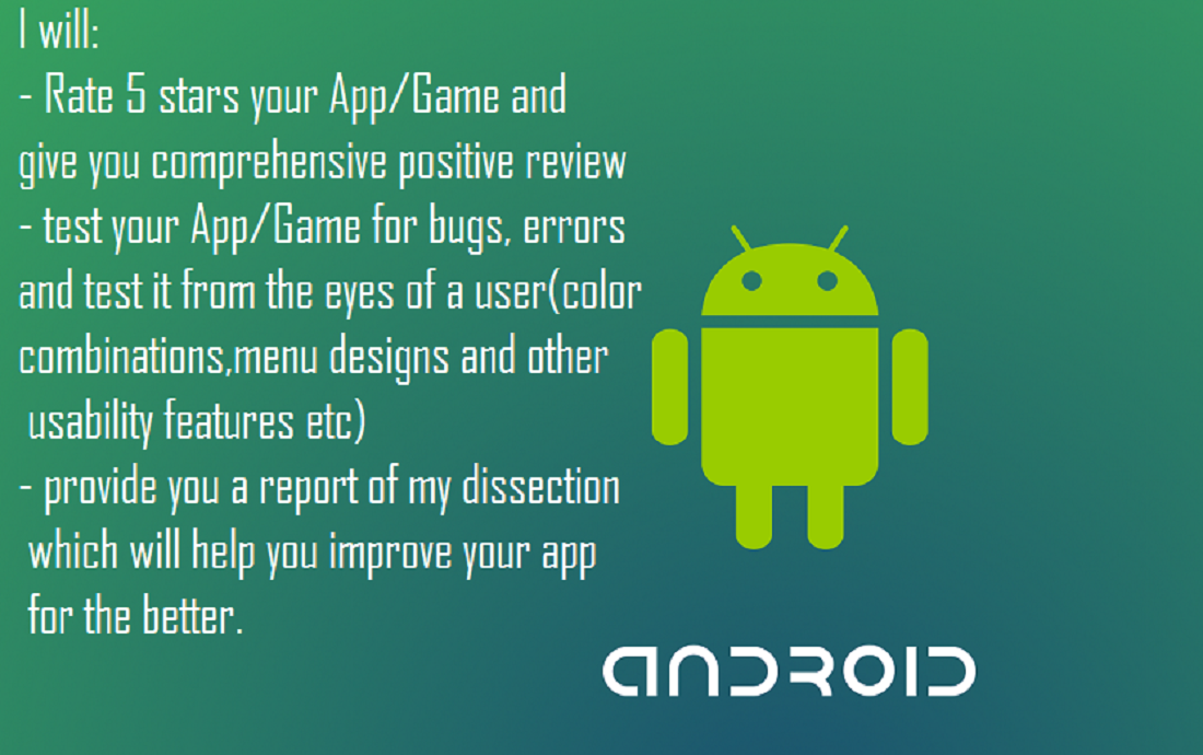do a dissection of your android app