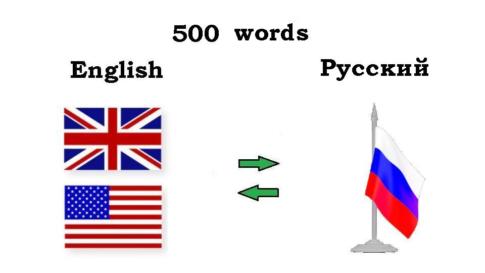 translate 500 words from English to Russian and vice versa