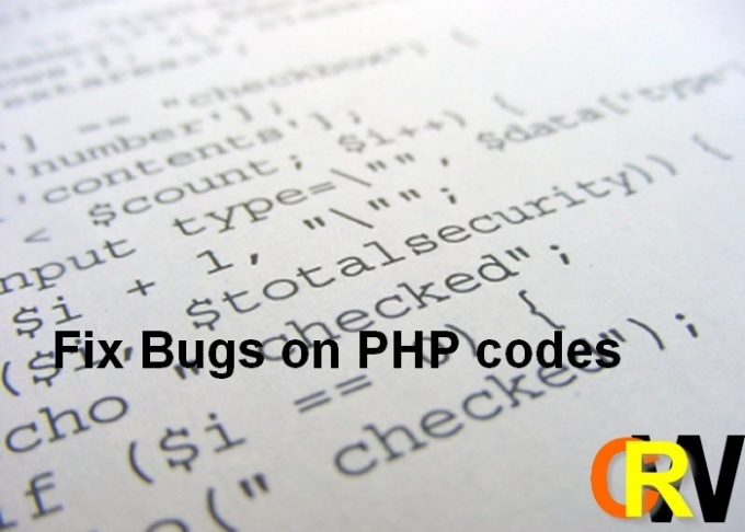 fix any bug in your scripts