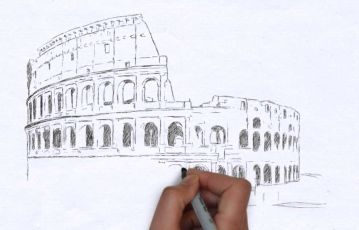 draw your photo as video animation