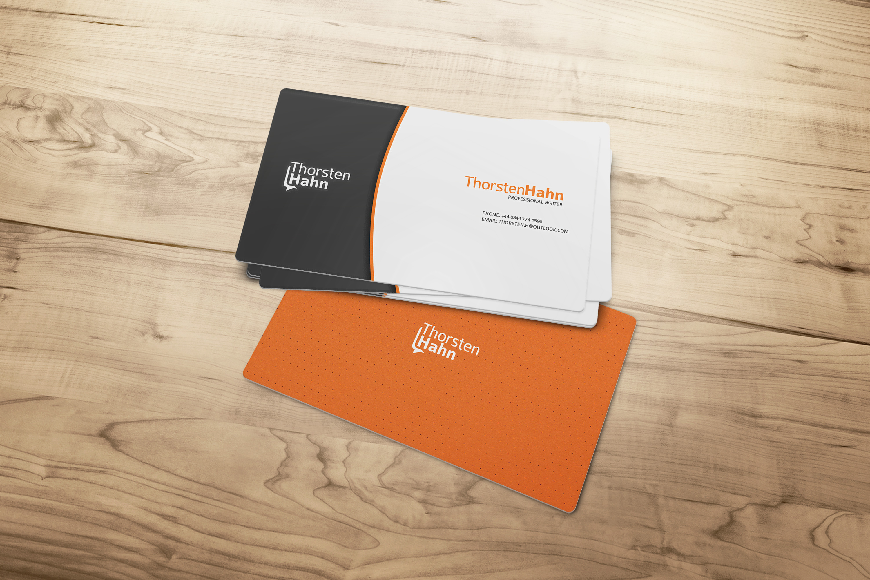 create your professional business card