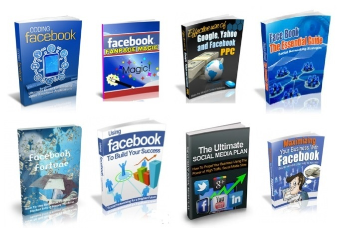 give you 20 Facebook related Ebooks MRR