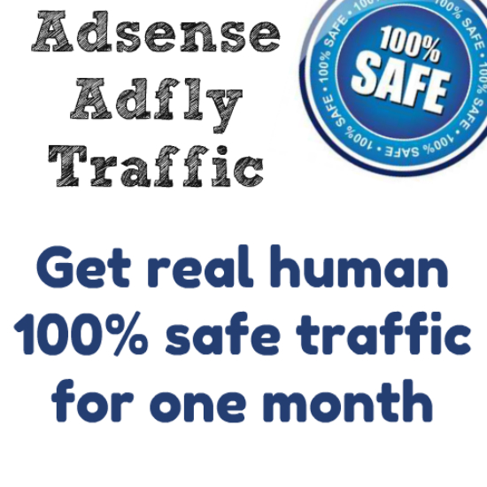 send unlimited, adsense safe traffic for one month