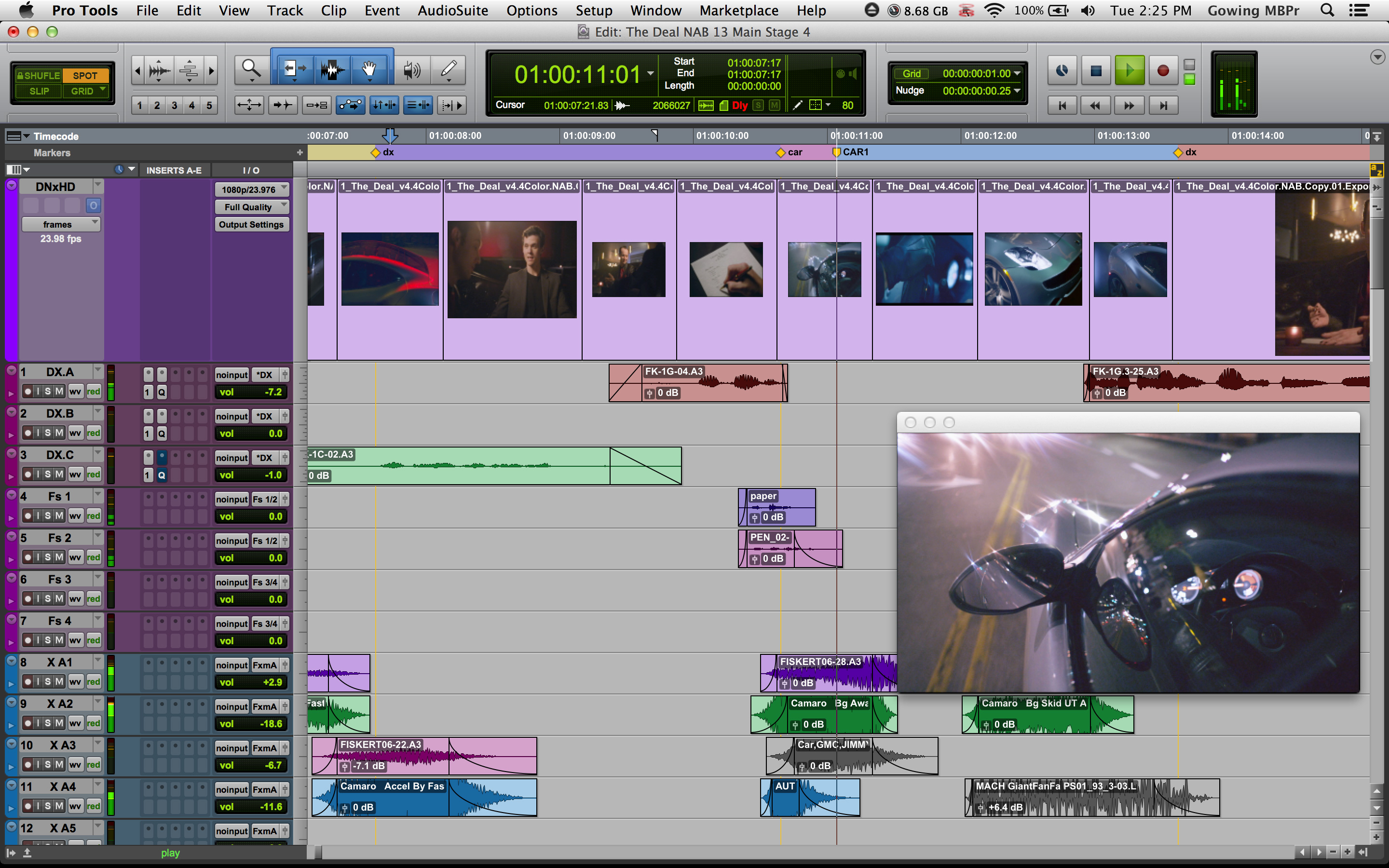 enhance the audio of your quicktime video