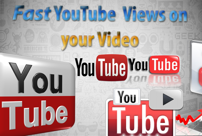 fast YOUTUBE Views on your Video
