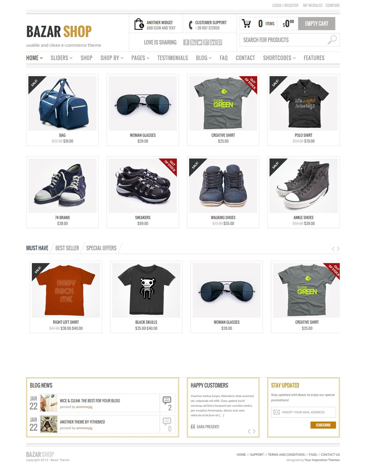 design awesome ecommerce website using wordpresss