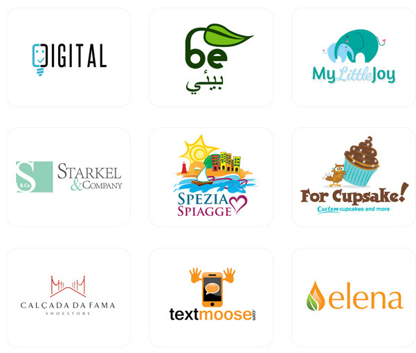 create a decent and unique logo for your brand or company