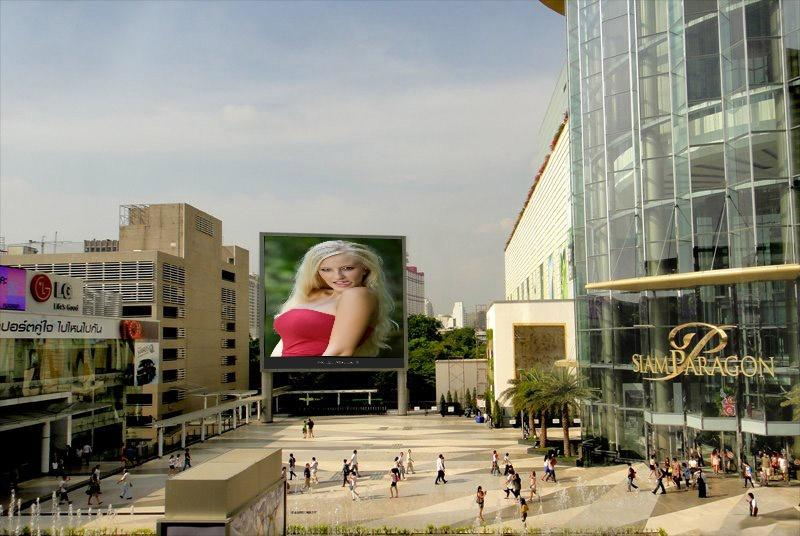 put photo or logo on 35 BILLBOARDS city posters