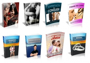 give you 100 Dating Master-Resell Rights Ebooks
