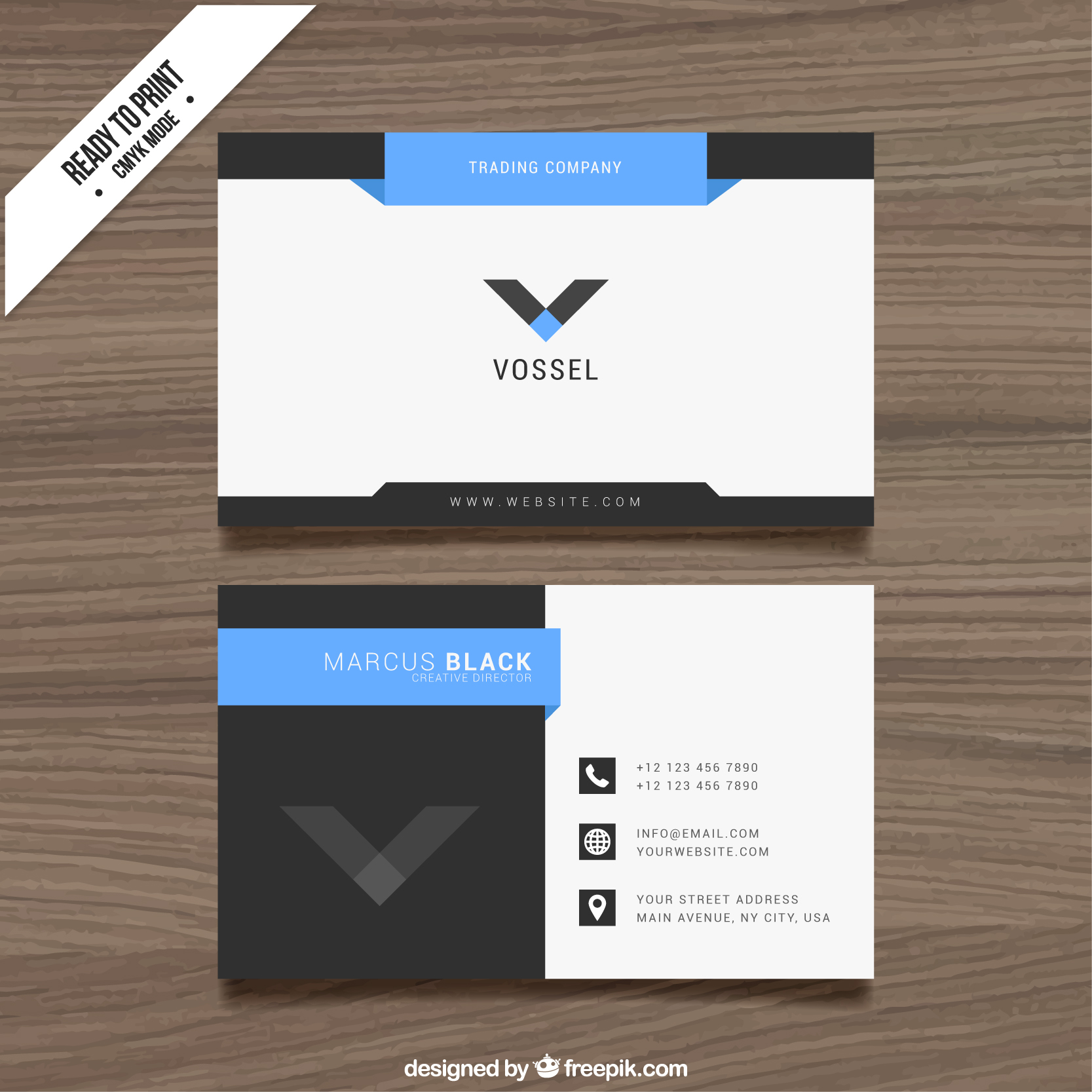 make stylish and professional two side BUSINESS card