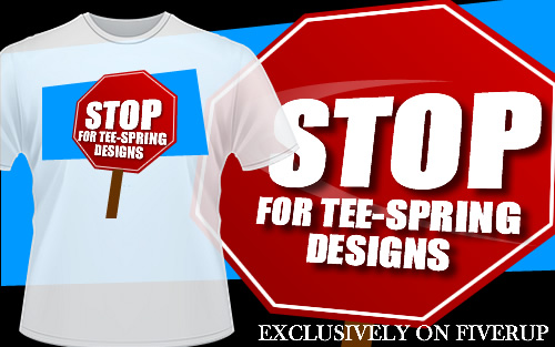 design an awesome tee-spring design