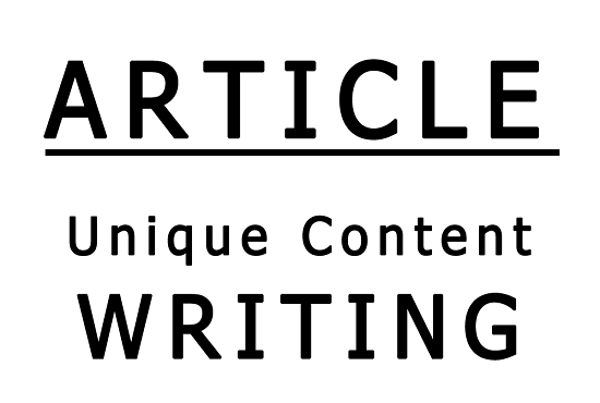 write TWO 95+% unique articles of 4 to 500 words on any niche