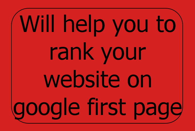 help you to rank your website on google first page