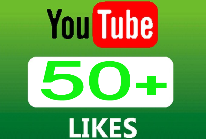 Add 50 High Quality YouTube Likes