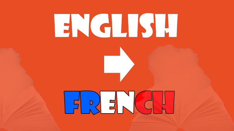 translate texts from English to French