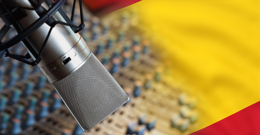 record an awesome Spanish voiceover
