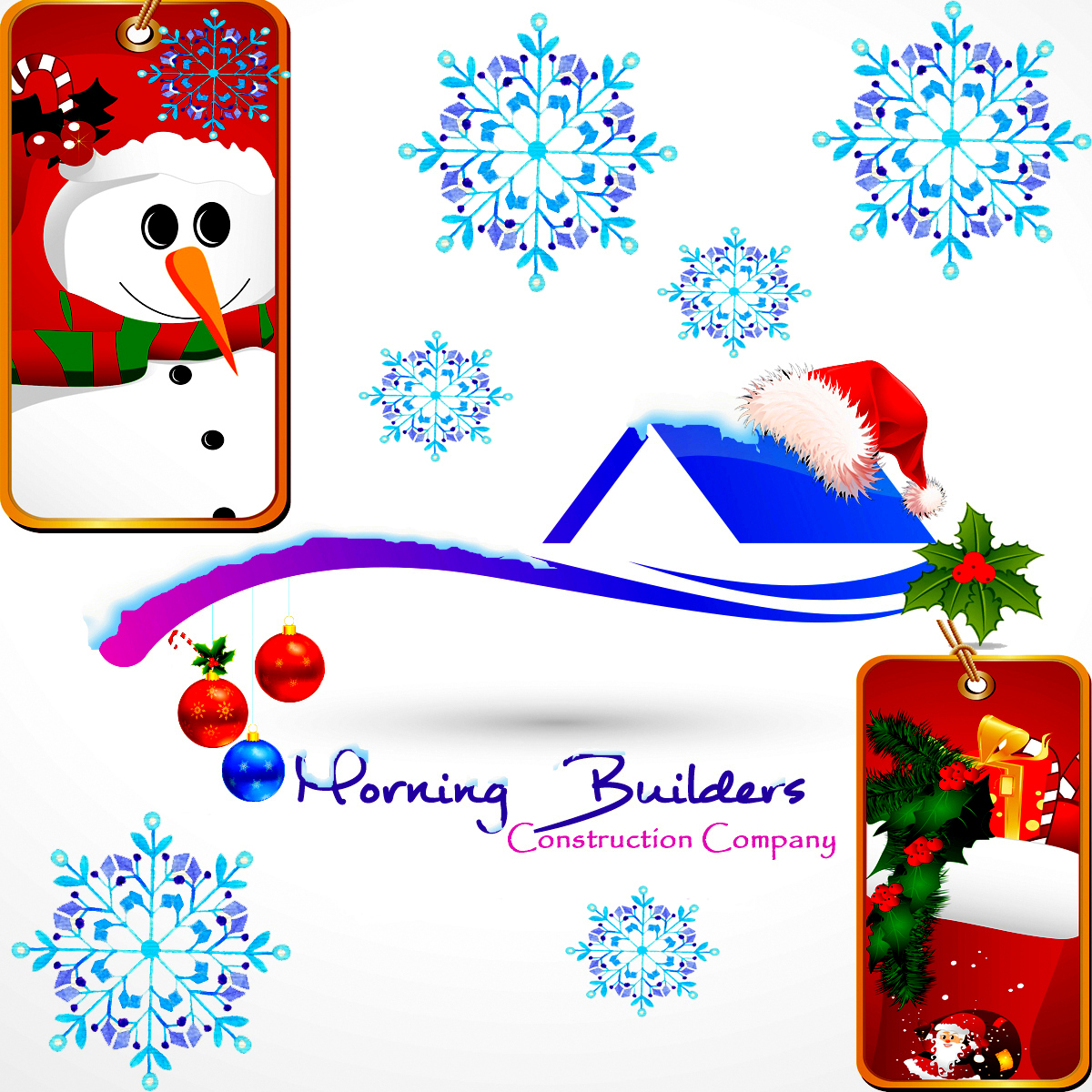 decorate your logo for Christmas