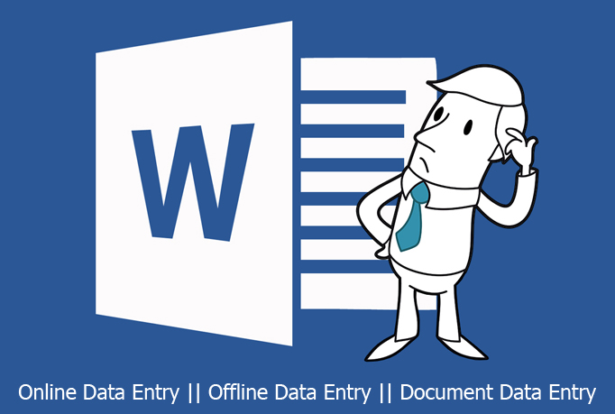 do any type of data entry work