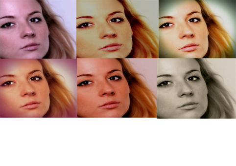 change your photos with 20 colour  modes