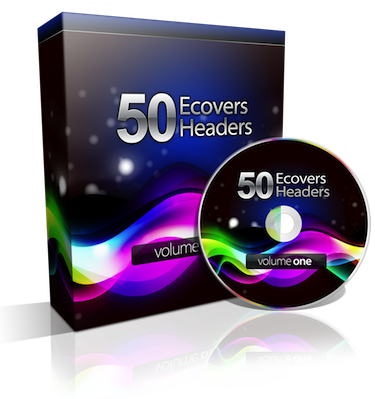 50 eCovers & Headers Design Package Pro