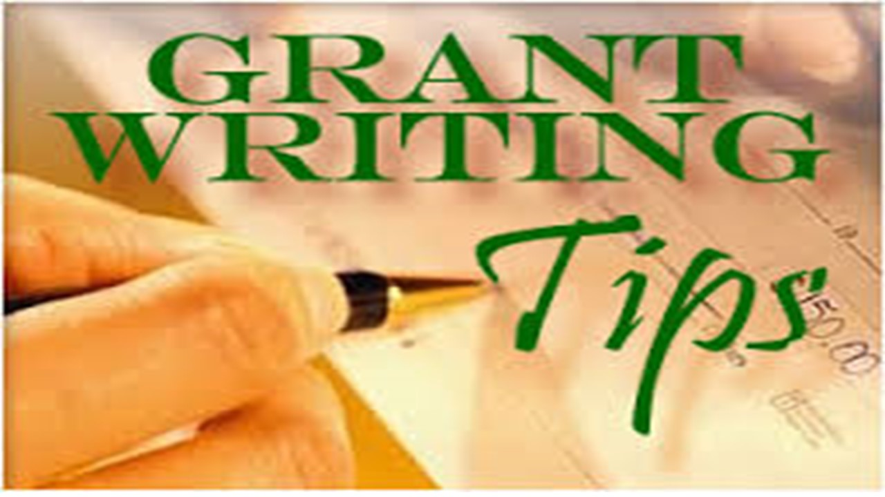 write proposal/grant for you