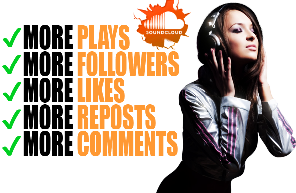 deliver 200 Soundcloud Likes, Reposts OR Comments