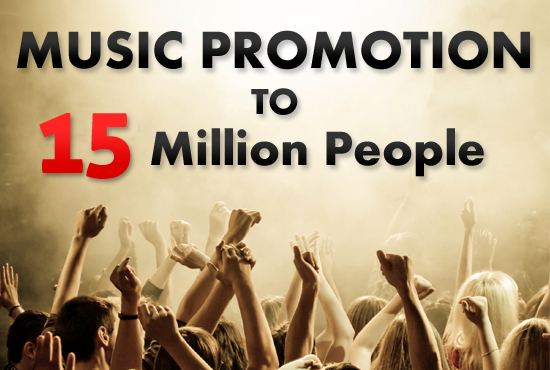 promote your music or link to 15million people