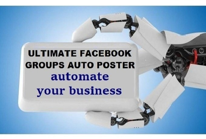 give you Facebook auto Group Poster