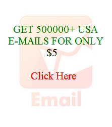 give 500000 verified Emails most from USA