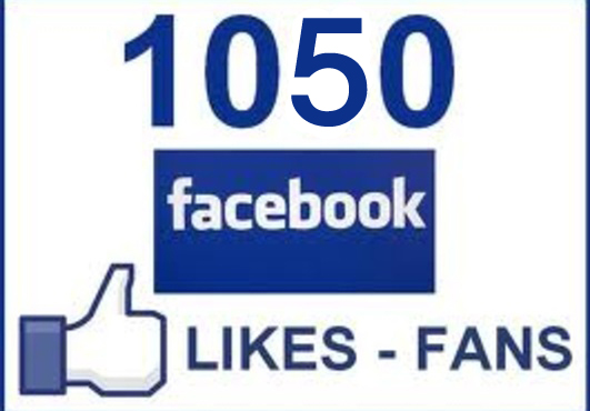 give 1050+[Guaranteed]Facebook likes to your facebook fanpage,likes in 48 hours