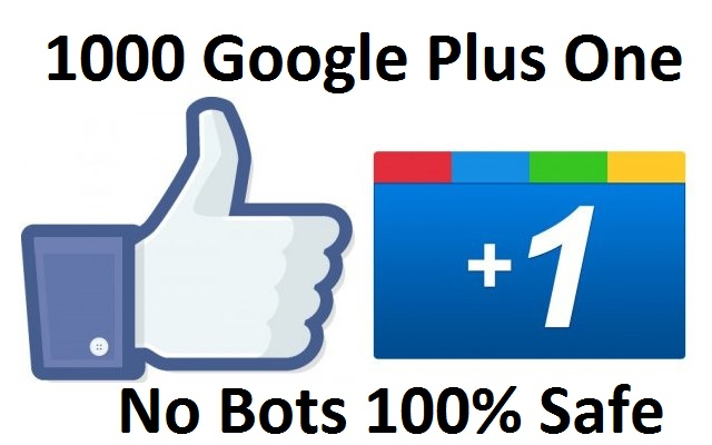 monster offer 1000 Real Google Plus Ones