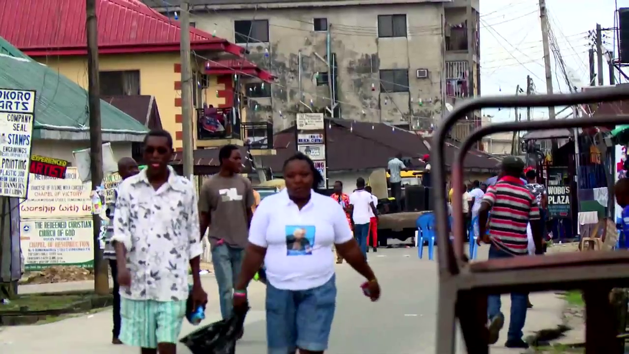 film broadcast HD video of African people and locations for your projects