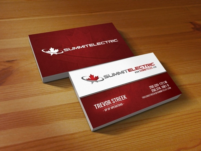 create professional business cards