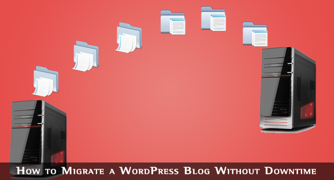 migrate your website to a new web host