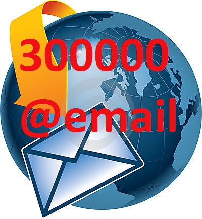 Provide 300000 email list worldwide for your marketing campaign