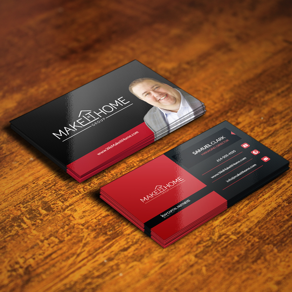 design stylish awesome and creative Business Card