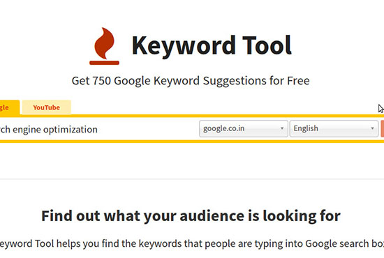 give you access of Keyword tool io for 3 Month