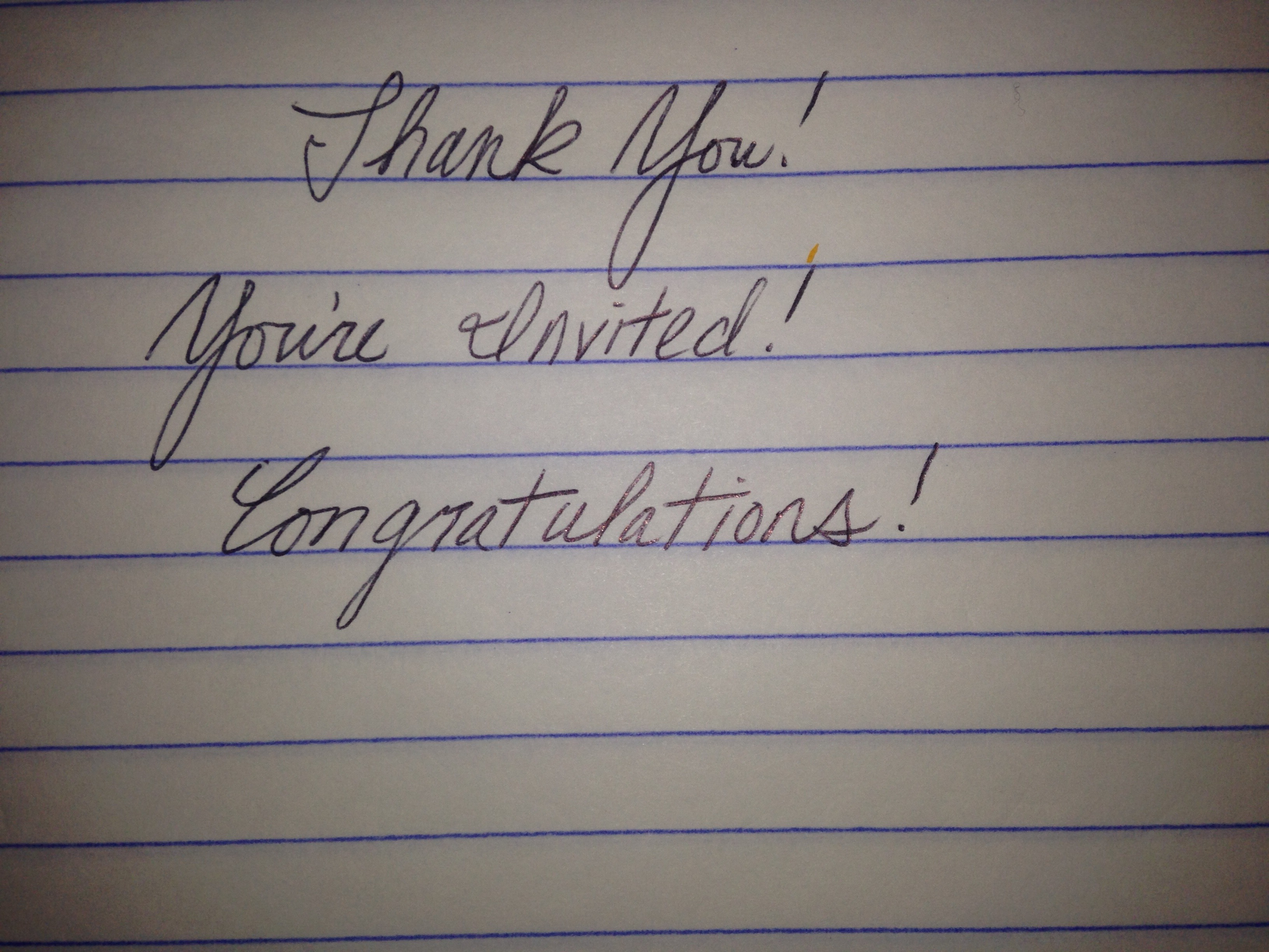 handwrite a letter and send it anywhere