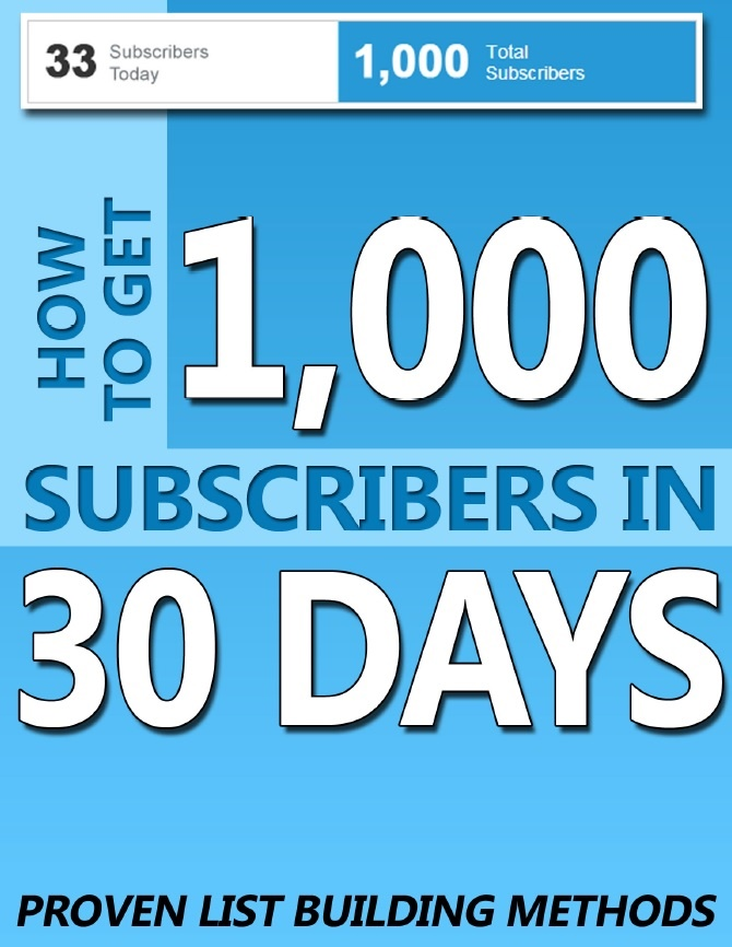 teach you how to get 1000 subscribers in 30 days !!!