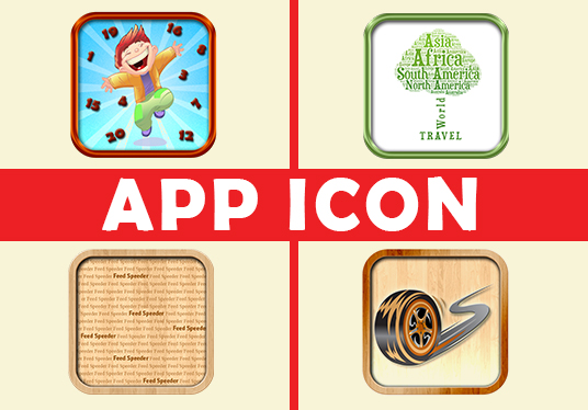 create awesome app icon for your application